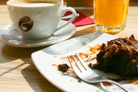Американский шоколадный десерт брауни