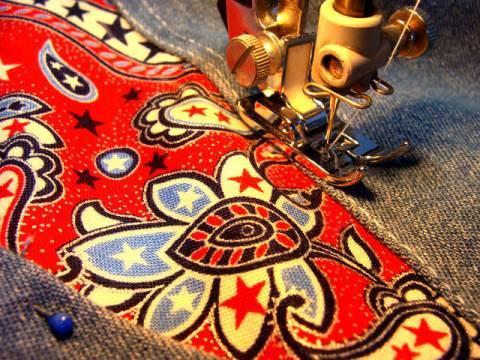 Как из старых джинсов сделать новую юбку s06050564 юбки шитье джинсы брюки