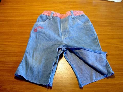 Как из старых джинсов сделать новую юбку s21552000 юбки шитье джинсы брюки