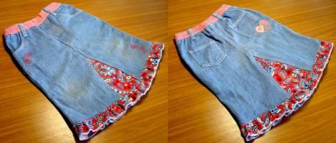 Как из старых джинсов сделать новую юбку s67849273 юбки шитье джинсы брюки