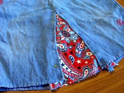 Как из старых джинсов сделать новую юбку s85737100 юбки шитье джинсы брюки
